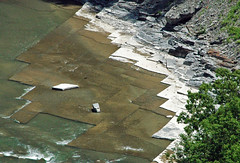Jointed sedimentary rocks (Devonian; Genesee Gorge, New York State, USA) 3