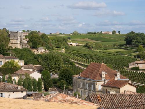 View from Saint-Emilion