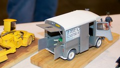 """Greg Plumber's """"The Little Tooth Collector Mouse"""", Mobile version with Citroen H Van. Note Ferrari road-grader to the left.  DSC_0327"""