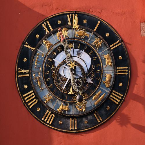 Astronomische Uhr in Hagenau