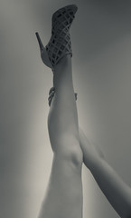 hold the leg