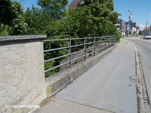 MUR370 Frauenfelderstrasse Road Bridge over the Murg River, Münchwilen, Canton Thurgau, Switzerland