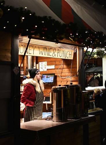 Wine & Honey Stall . Prague