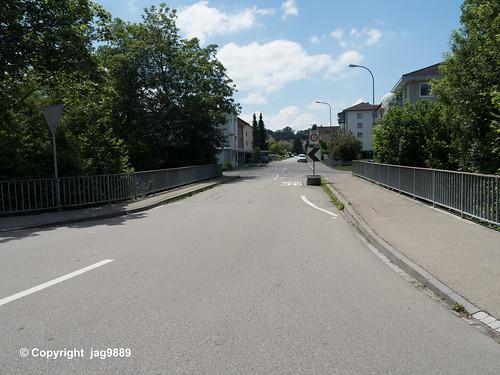 MUR360 Im Eigen Road Bridge over the Murg River, Münchwilen, Canton Thurgau, Switzerland