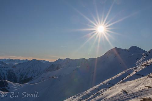 afternoon sun in Tirol