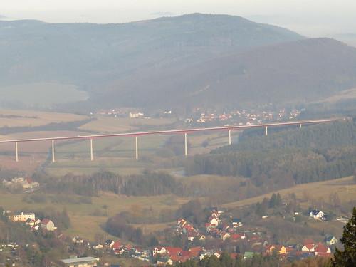 A71 Thüringen bei Ilmenau