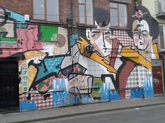 Le Bas street art on Strand Street Dublin (photo 2 of 5)