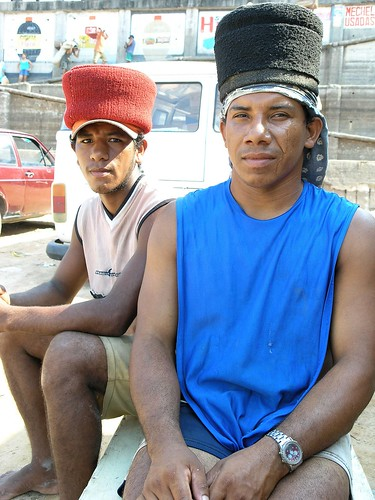 Porters at the Dock - Manaus, Brazil 2004