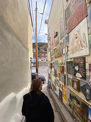 Leaving Bisbee art alley