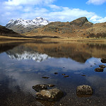 Blea Tarn reflections by Bill Wastell
