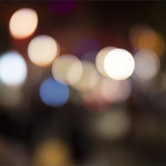 Defocused Lights – China Town by Peter Budd