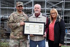 Commander recognizes life saver at Cordell Hull Lake