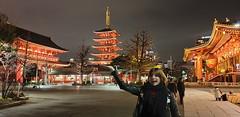 Sensō-ji - Asakusa by night - Tokyo Japan 2020 (2)