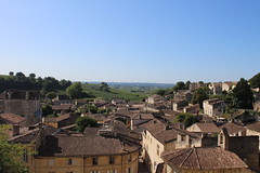 Over the roofs of St. Émilion