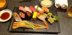 Sushi in Tokyo - Japan 2020