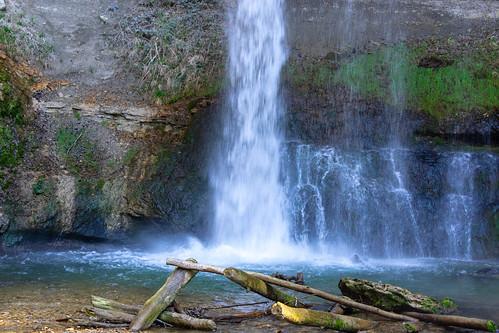 Cascade du Dard, Croy
