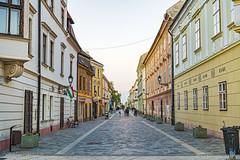 A street of Győr