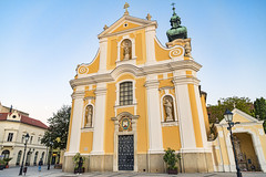 One of the churches of Győr