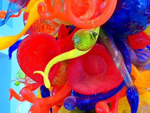 Milwaukee Wisconsin  - Milwaukee Art Museum - Glass Work by Chihuly