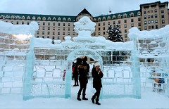 Ice Sculpturing Canada Parks