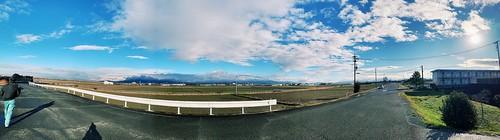 豊橋神野新田に海 良い天気と空間が楽しかった