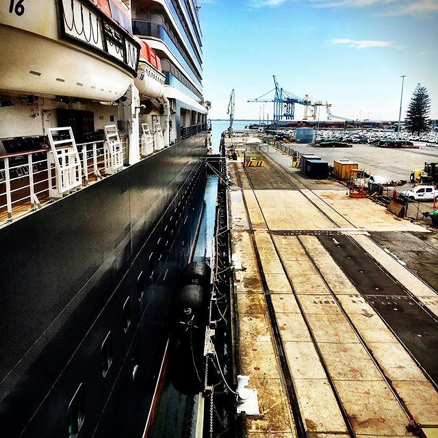 031/366 • docked in Adelaide! •