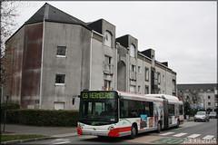 Heuliez Bus GX 427 GNV – Semitan (Société d'Économie MIxte des Transports en commun de l'Agglomération Nantaise) / TAN (Transports en commun de l'Agglomération Nantaise) n°294 (Les Chemins de l'École)