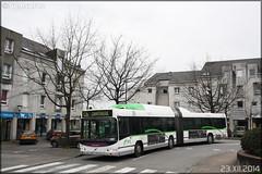 Volvo 7000 A GNV – Semitan (Société d'Économie MIxte des Transports en commun de l'Agglomération Nantaise) / TAN (Transports en commun de l'Agglomération Nantaise) n°229