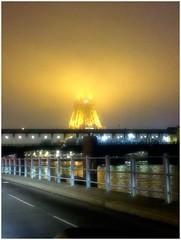 Tour Eiffel dans le brouillard !