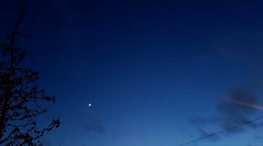 Moon and Venus (and Neptune)