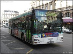 Man NL 223 – RATP (Régie Autonome des Transports Parisiens) / STIF (Syndicat des Transports d'Île-de-France) n°9185