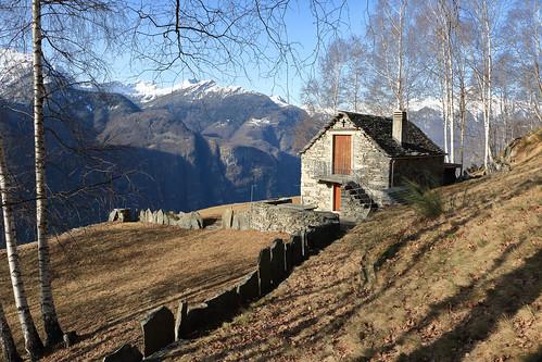 Alpe Arnau, Valle Maggia. Canton Ticino, Svizzera