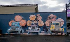 2003 Centennial Mural (Logging Truck)  Snoqualmie, WA