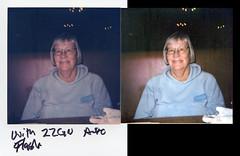 Polaroid Originals film old camera comparison