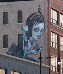 Imagine Mural - Wabash Art District, Chicago, 2016