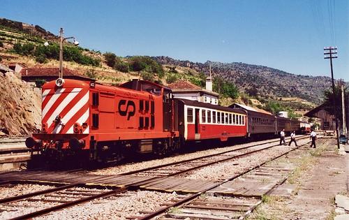 Estação da Tua, Portugal