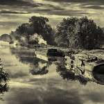 1st - PDI League 4 - Barges on the Lea by Richard White