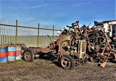 Lorry Scrapyard: 2020 permission visit to 'The Place'