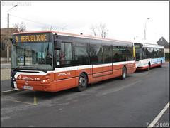 Irisbus Citélis 12 – Setram (Société d'Économie Mixte des TRansports en commun de l'Agglomération Mancelle) n°115 & Irisbus Agora S GNV – Setram (Société d'Économie Mixte des TRansports en commun de l'Agglomération Mancelle) n°672