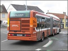 Irisbus Agora L GNV – Setram (Société d'Économie Mixte des TRansports en commun de l'Agglomération Mancelle) n°767