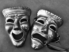 Comedy and Tragedy #masks #theatre #theatrical #theatrelife #theatremasks #love #photography #photographer #photographylovers #stilllife #art #artist #ottawa #montreal #toronto #vancouver #nyc #losangeles #japan #tokyo #london #paris #berlin