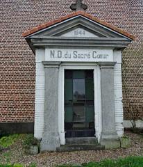 Houplines  chapelle N.D. du Sacré-Cœur Pavé de la Blanche