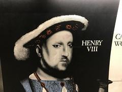 Henry VIII in mascara