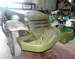 Houplines White Half Track M16 A1 - Photo of Santes