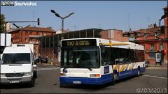 Heuliez Bus GX 317 – Les Courriers de la Garonne (Transdev) n°73013 / Tisséo n°7303 - Photo of Mondouzil