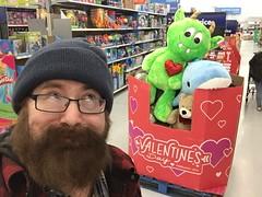 Walmart Giant Valentine's Plush