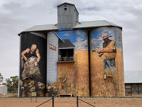 Silo art #weethalle #newsouthwales