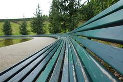 Long bench @ Parco del Portello @ Milan