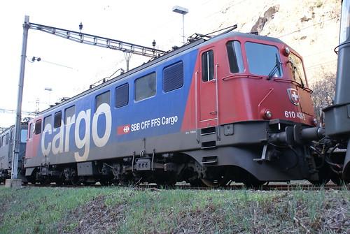 2010-04-02, CFF, Bodio, Ae 610 439