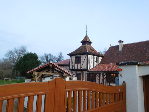 House with dovecote tower in Dordogne